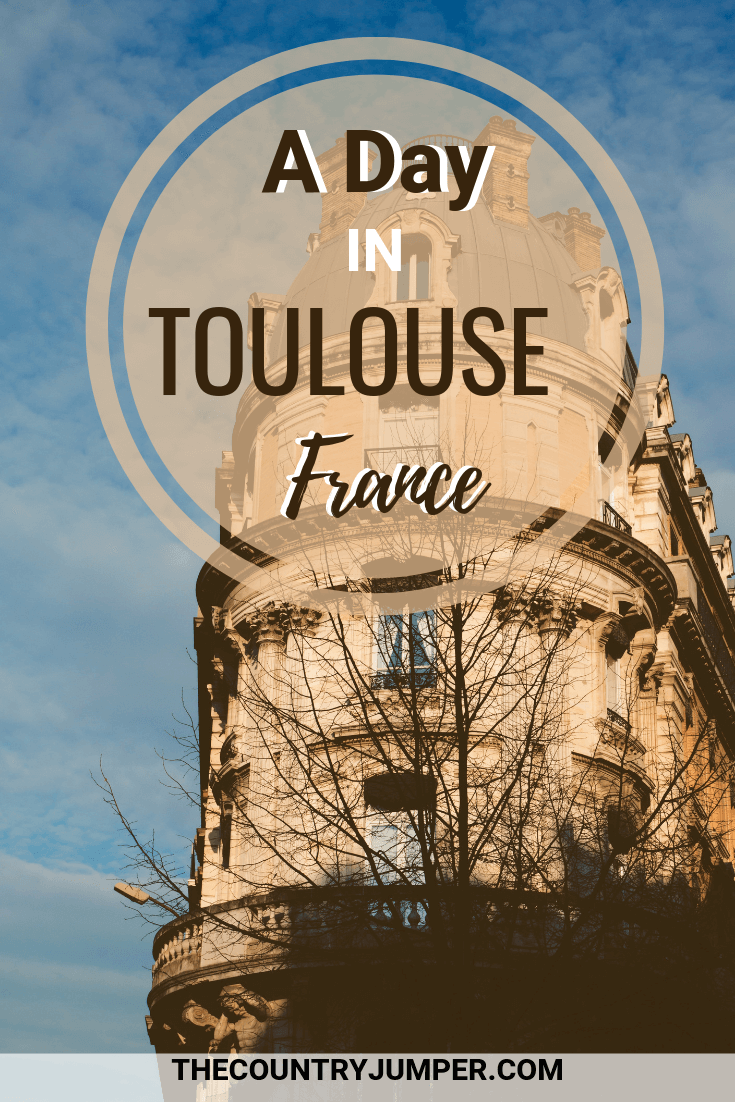 Toulouse should be a stop on your France itinerary. It is a beautiful city with minimal tourists and plenty to do. Here are some ideas for planning your day in Toulouse. #france #travelfrance #traveltips #toulouse