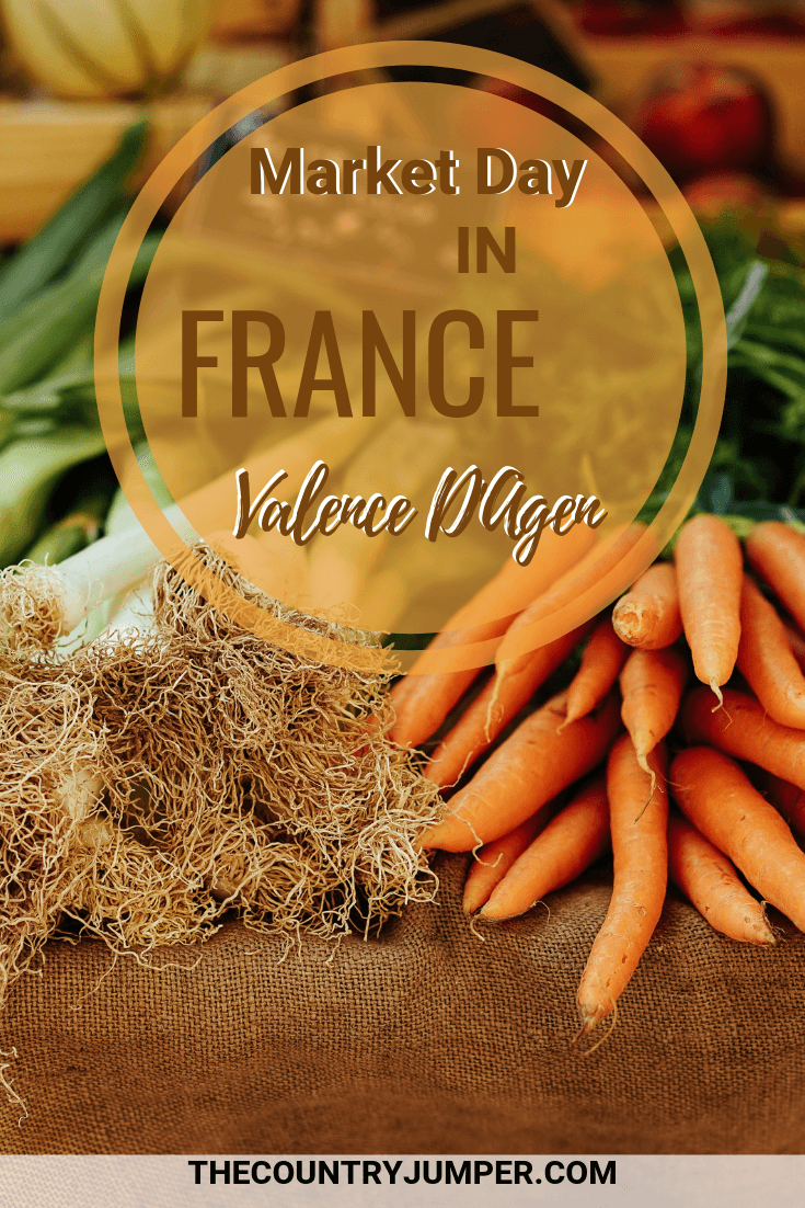 Experiencing one of France's many local markets is a key part to a complete trip to France. This one takes place once a week in Valence D'Agen, a small town in the south of France. #france #markets #traveltips #francetravels