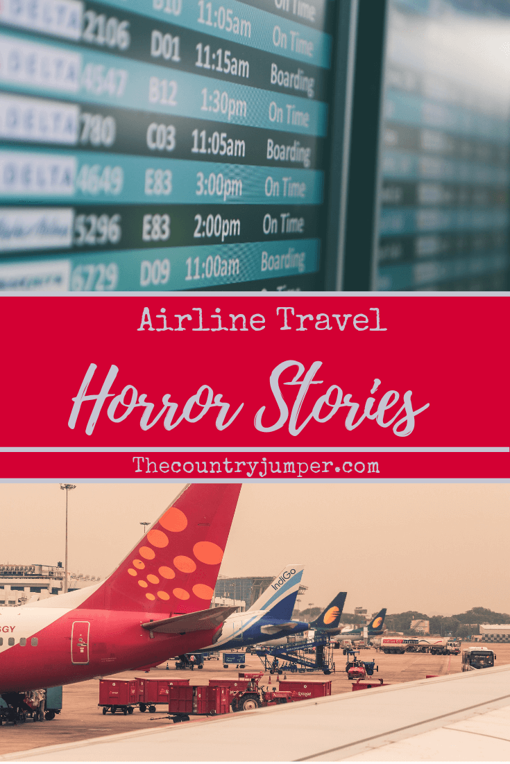 Unfortunately airline travel is not always seamless. Sometimes flights get cancelled, delays, or you might even end up at the wrong airport. It's pretty wild what airlines can get away with. #horrorstories #airlines #flying #travelfails