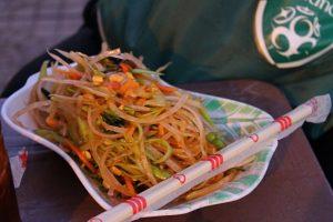 Papaya Salad from the Street in Cambodia