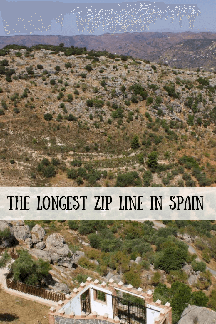 Make Comares part of your Spain itinerary. And when you visit the small pueblo in the south of Spain, jump on a ride down the longest zip line in Spain. Have fun and get some adventure in your Spanish holiday! #spain #holiday #comares #andalucia #zipline