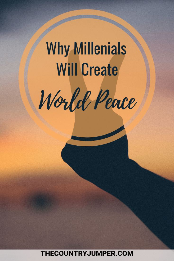 Why Millennial will be the ones - despite all the negative things people have to say about them - who will fix this broken world and bring us all together. A travel story. #travel #travelstories #hostellife