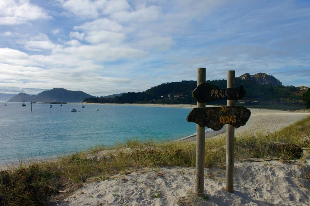 Beaches and water Cies Island