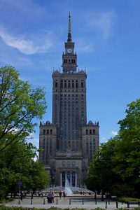 the palace of culture and science - Stalin's Penis - Warsaw, Poland - The Country Jumper