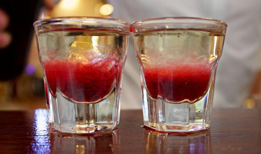 Wodka shots