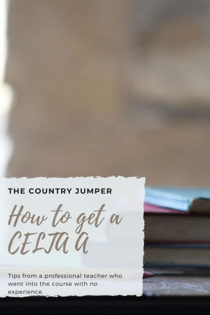Ten tips on how to get a CELTA Pass A
