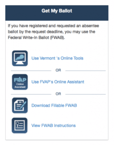 The Federal Voting Assistance Program