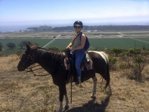 Horseback Riding in San Francisco in front of the coast - The Country Jumper
