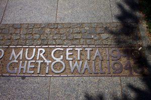 Warsaw Ghetto Border