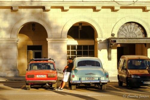 The Streets of Havana Cuba