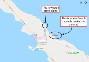 French Leave Beach Eleuthera Island Bahamas