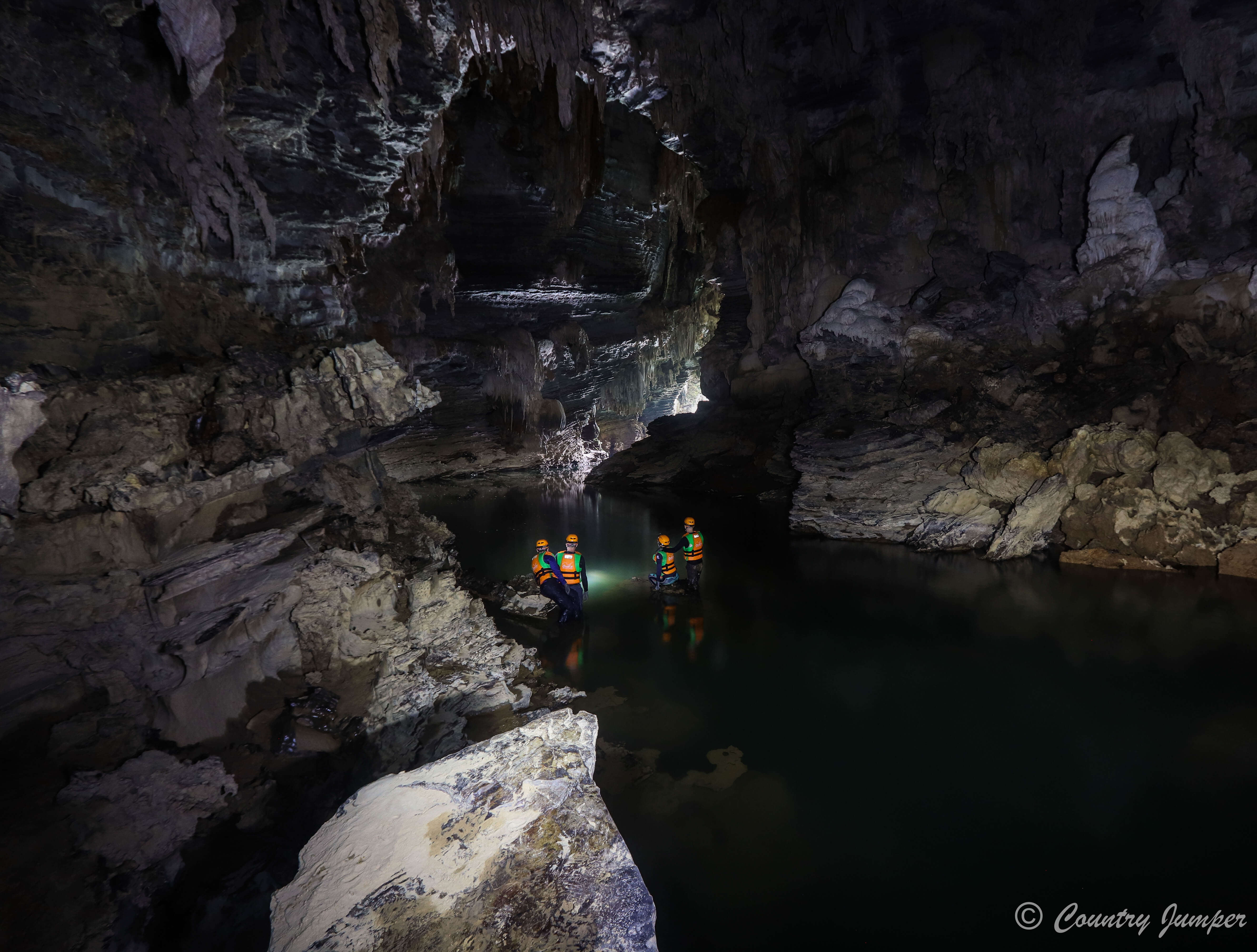 Phong Nha Caves with Oxalis Adventure Tours