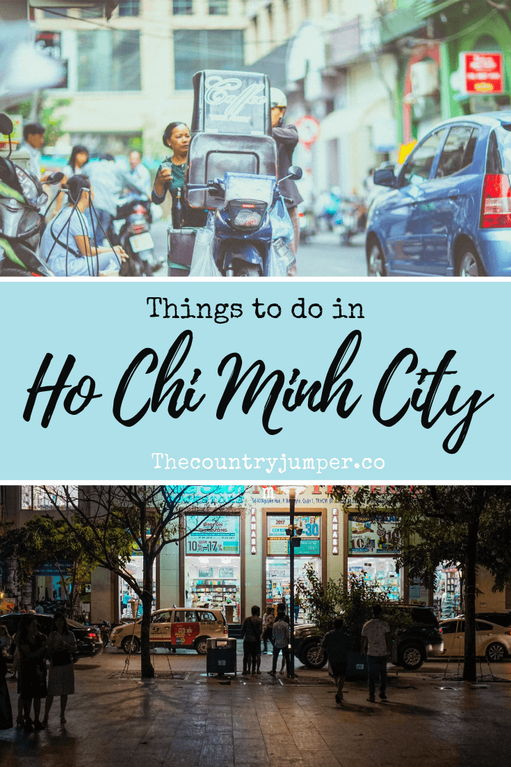 Planning a trip to Vietnam? A visit to Ho Ch Minh city will be a part of your Vietnam itinerary. So It's important to know the things to do in Ho Chi Minh City so you'll fall in love with everything the bustling city has to offer. From expat haunts to perfect alleyways, here are things to do in Saigon. #Vietnam #hochiminhcity #saigon #hochiminh