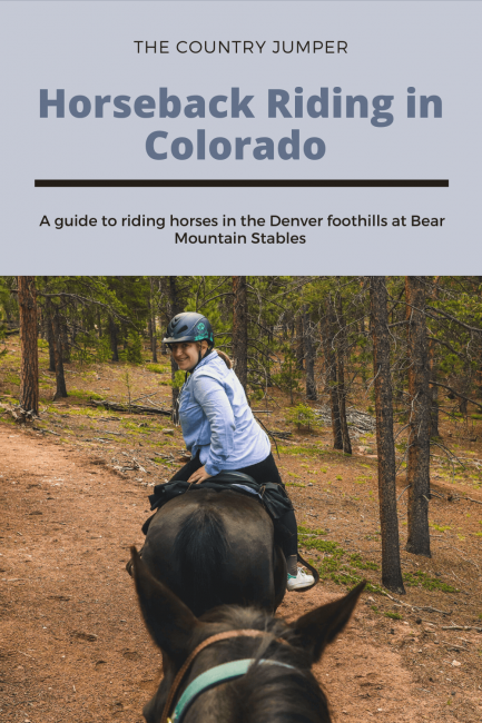 A guide to go riding in Colorado in the Denver foothills - The Country Jumper