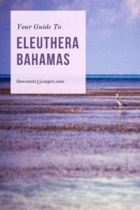 Eleuthera Island, on The Bahamas, is home to some of the most beautiful beaches including the pink sands beaches of insta-fame. There are lots of spot to hit on Eleuthera so you'll want to plan your itinerary well so you don't miss any of the best spots in The Bahamas. #bahamastravel #eleutheraisland #caribbeantravel