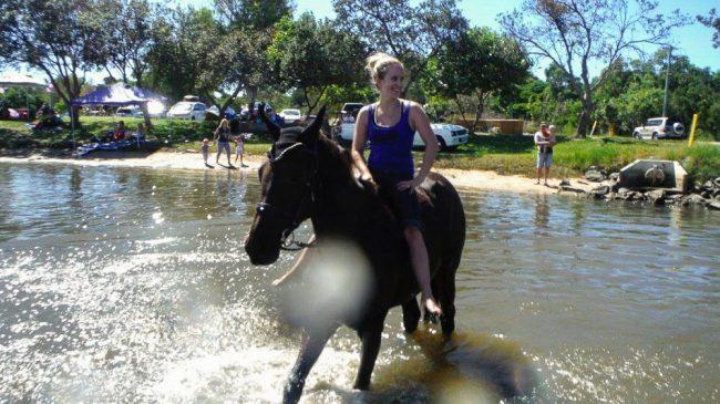 horseback riding in Australia