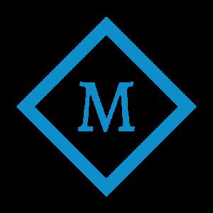 M in diamond - Macro Magazine logo