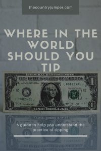 Whether or not to tip abroad is a question many travelers have. From the history of the words and the customs, here is everything you need to know about the custom of tipping and whether or not you should participate on your vacation overseas. #tipping #shoulditip #tippingculture