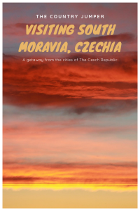 While Prague is fun, I strongly encourage a visit to the countryside of Czechia. South Moravia, with its rolling hills is an excellent short adventure away from the city. #czechia #moravia #lakes