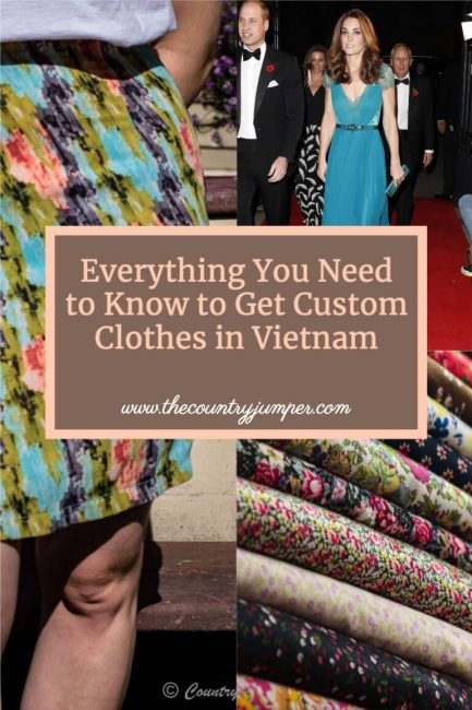 If you are traveling to Vietnam - you should know all about getting clothes made in Ho Chi Minh City - it's a must do!